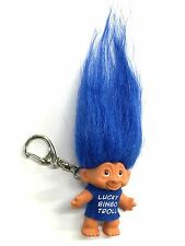 "Troll Keychain - Good Luck - Lucky Bingo Troll - Blue - 2"" (GM-2-KCTRL)"