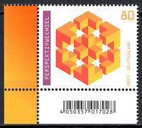 3497 postfrisch Ecke Eckrand links unten BRD Bund Deutschland Briefmarke 2019