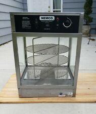 """Nemco 6451-2 Self-Serve Rotating 3-Tiered Pizza Merchandiser 18"""" Racks 120V"""
