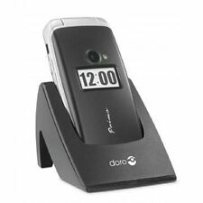 Doro Primo 413 BIG BUTTON SENIOR MOBILE FLIP PHONE BLACK