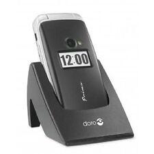 Doro Primo 413 BIG BUTTON SENIOR MOBILE FLIP PHONE BLACK