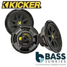 """KICKER CWS124 CompS 12"""" 30cm 600 Watts Single Voice Coil Car Van Sub Subwoofer"""