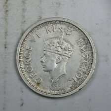 British India 1945 One Rupee Silver AU FREE Shipping