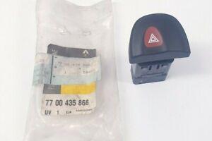 Genuine Renault Hazard Warning Lamp Switch 7700435868
