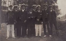 Scarce WW1 Merchant Navy Officers interned as POW Prisoners of War Germany