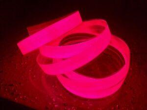 "electroluminescent tape EL TAPE-1"" x 48"" Orange/Red &12v Inverter-MFG in USA*"