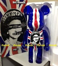 Medicom be@rbrick 2016 Sex Pistols 1000% God Save The Queen Clear bearbrick 1pc