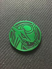 Pokemon Green Rayquaza Battle Arena Deck Collector COIN - NEW