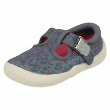 Chaussures décontractées bleus en toile pour fille de 2 à 16 ans