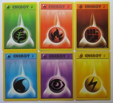 BASE SET 2 - Complete 6 Basic Energy - Pokemon Cards