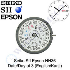 Seiko (SII) NH36 / NH36A Automatic Movement - Date/Day at 3 with JAPANESE KANJI