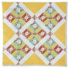 Sunshine & Daisies Quilt quilting pattern instructions