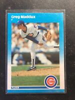 1987 GREG MADDUX⚾️ Fleer Update Rookie🔥Great Investment-QTY RC's-Hall of Famer