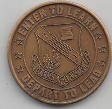 Robins NCO Academy challenge coin - Robins AFB - 158