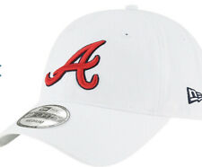 49Forty New Era Core Fit HAT ATLANTA BRAVES MLB White Tomahawk Large MSRP $28