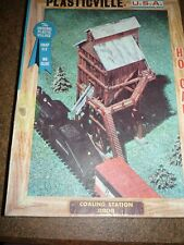 PLASTICVILLE 2808 COALING STATION KIT  With Instructions