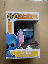 Funko Pop Disney - Lilo And Stitch- Diamond Glitter Stitch Exclusive!