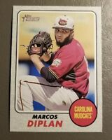 Marcos Diplan Gray Parallel 22/25 2017 Topps Heritage Minor Leagues #138