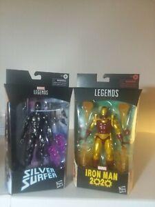 Marvel Legends  - 2 Silver Surfer + Iron-Man+ Dare-Devil  [Walgreens Exclusive]