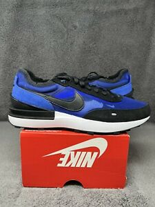 NEW Nike Waffle One Royal Blue Black 2021 DA7995-400 Sacai Men's Sizes 10 & 10.5