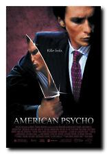 American Psycho Movie Poster 24x36 Inch Wall Art Portrait Print