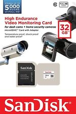 SanDisk 32GB High Endurance Micro SD SDHC Card for Video Monitoring,Class 10 -UK