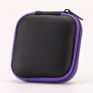 Earphone Bag  Headphone Pouch Storage Box Phone Charger Data Cable Carrying Case