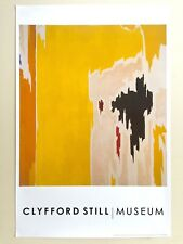 """CLYFFORD STILL ABSTRACT EXPRESSIONIST RARE LITHOGRAPH PRINT POSTER """"PH1074"""" 1956"""