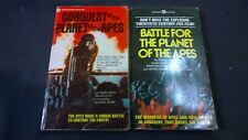 Battle for the Planet of the Apes & Conquest 2 books