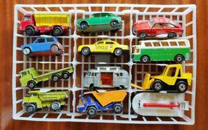 Matchbox Lesney Superfast group x 12 VW MG Mini Camper Grit Spreader