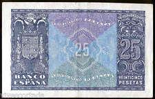 25 pesetas 1940 Juan Herrera @@ Excelente @@