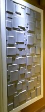 3D Wall Panel modern wall art. 48 Decorative tiles ~128sq.ft Mdl#55 Eco-Friendly