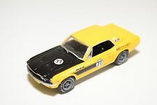 GREENLIGHT FORD MUSTANG RALLY 1967 YELLOW NEAR MINT CONDITION