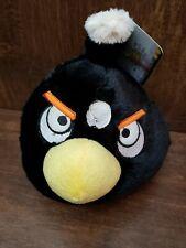 Angry Birds Plush Black Bird window cling
