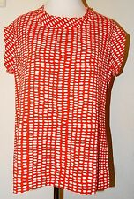 "CAbi ""Printed Madeline Top"" ~ Size L Large ~ Style # 294 ~ NWT $89 Retail"