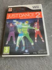 Just Dance 2  Nintendo Wii Or Wii U Kids Video Game Holographic Front Exercise