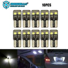 IRONWALLS T10 LED License Plate Light Bulbs 6000K Bright White 168 2825 194 2PCS