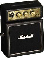 New Marshall MS-2 Micro Amp Black Mini Guitar travel amp