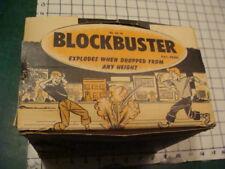 Original Vintage - full case - BLOCKBUSTER CAP BOMB - 36 PIECES - palmer plastic