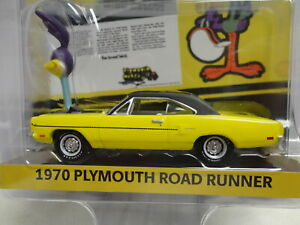 Greenlight 1970 PLYMOUTH ROAD RUNNER Yellow '70 The Loved Bird HOBBY EXCL