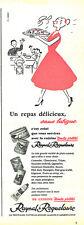 Publicité Advertising  028  1956  Raynald & Roquelaure  conserves plats cuisinés
