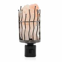 Home Decor Himalayan Natural Rock Salt Night Light Natural Pink Pillar Desk Lamp