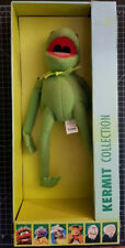 2001 NEUF Kermit Collection Peluche Grenouille TOMY Jim Henson Boite Muppet Show