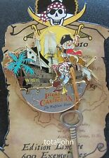 Disney DLRP The Pin'Hunt Event Pirates of the Caribbean Chip & Dale on Ship Pin