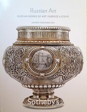 Sotheby's  RUSSIAN WORKS OF ART FABERGE & ICONS 12/2009 London