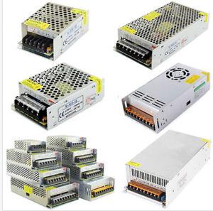DC5V 12V 24V AC110V-220V Switch Power Supply Driver Adapter LED Strip Light