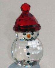 SWAROVSKI CHRISTMAS ROCKING SNOWMAN (2016) 5223612 MINT BOXED RETIRED RARE