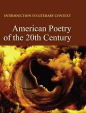 American Poetry of the 20th Century: Print Purchase Includes Free Online Access