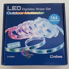 5 Meter Digitales RGB LED Stripe-Set Outdoor Multicolor von Näve innen und außen