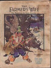 The Farmers Wife November 1930 The Magazine for Farm Women Gd 021916DBE2